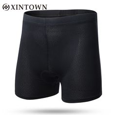 new arrival b8ce0 b5042 Xintown Men Summer Cool Mesh Fabric Cycling Shorts Professional  High-elastic Breathable 3d Sponge Pad