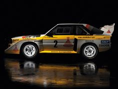 Audi Sport Quattro S1 Group B Rally Car 1985–86