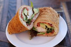 Sandwich wrap recipe made with coconut flour