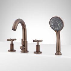 Gallant Roman Tub Faucet And Hand Shower