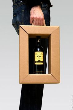 Genius Wine Bottle Packaging Design!