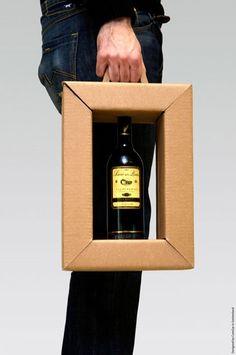 Genius Wine Bottle Packaging Design!