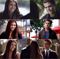 TVD Stefan and Elena parallels