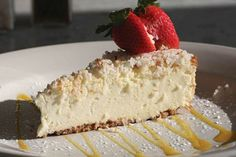 Coconut-Lime Cheesecake with Mango Coulis Recipe