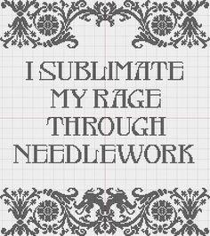 I sublimate my rage pattern | Flickr - Photo Sharing!
