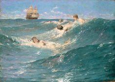 George Willoughby Maynard, In Strange Seas, 1889