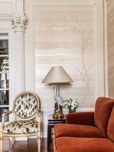 Photography by David Duncan Livingston. Interior Design by Antonio Martins Interior Design. Living Room Inspiration.  Traditional Living Room. Glamorous Living Room.