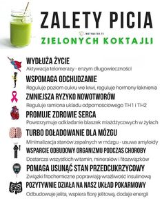 Dlaczego nie warto zapomnieć o piciu zielonych smoothie - Szkolenia dietetyczne Easy Healthy Smoothie Recipes, Healthy Juices, Healthy Life, Healthy Eating, Ga In, Gewichtsverlust Motivation, Liquid Diet, Slow Food, Smoothie Drinks