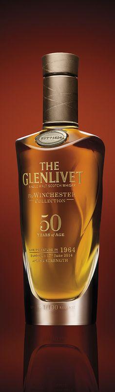 The Glenlivet Winchester Collection Whisky Good Whiskey, Cigars And Whiskey, Whiskey Bottle, Whiskey Girl, Tequila, Scotch Whisky, Whiskey Brands, Liquor Bottles, Liquor Drinks