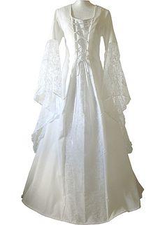 Celtic Wedding Dresses Plus Size | http://www.lightinthebox.com/A-line-...3-_p40988.html