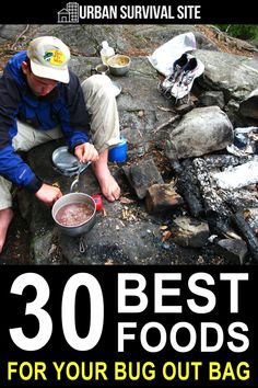 When choosing foods for your bug out bag, the weight to calorie ratio of your food is the most important thing to consider, but you also need to think about the shelf life, the macronutrients, and how hard it is to prepare. Kids Survival Skills, Survival Life Hacks, Survival Supplies, Emergency Supplies, Camping Survival, Survival Prepping, Survival Gear, Emergency Preparedness Kit, Emergency Preparation