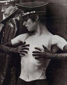 1974. Charlotte Rampling. Il portiere di notte.