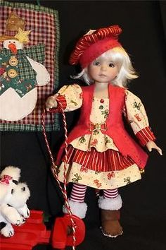 Christmas-Bells-and-Bows-13-Effner-Little-Darlings-by-ALISEWN. Ends 11/13/14. SOLD for $90.95