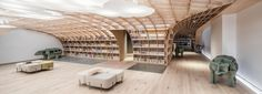wutopia's cozy multipurpose community center debuts in shanghai