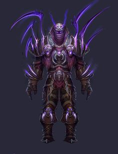 World of Warcraft Armor Concept, Weapon Concept Art, Warcraft Art, World Of Warcraft, Fantasy Armor, Dark Fantasy, Minions Cartoon, Character Art, Character Design