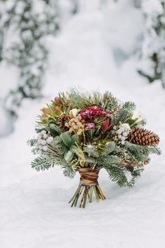 Winter bouquet. Florist in Vancouver, BC