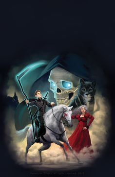 Terry Pratchett Mort cover illustration by katea.deviantart.com on @DeviantArt