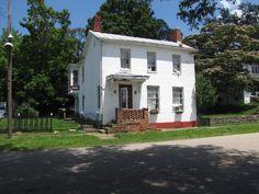 Home of Rev. Caleb Walker, 1837 president of the New Richmond Anti-slavery society.