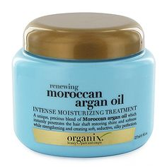 Renewing Moroccan Argan Oil Intense Moisturizing Treatment | A unique precious blend of Moroccan Argan Oil which instantly penetrates the hair shaft restoring shine and softness while strengthening and creating soft seductive silky perfection. It penetrates moisturizes renews and creates softness and strength. Provides natural vitamin E and antioxidants while renewing your hair's cell structure sealing in shine.