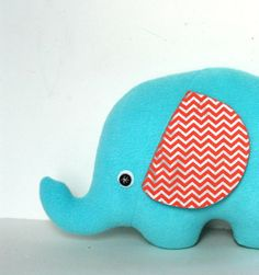 The Softest Elephant Kids Elephant Plush by FriendsOfSocktopus, $24.00