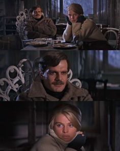 """'Dr Zhivago'  1965 Lara """"Wouldn't it have been lovely if we'd met before?"""" Zhivago """"Before we did? Yes"""""""