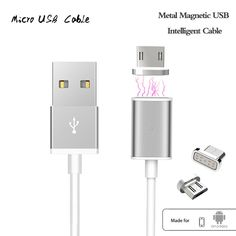 Android Magnetic Micro USB Charger Cable Adapter //Price: $13.99 & FREE Shipping //     #freeshipping