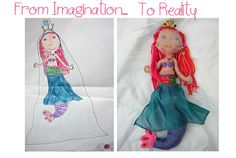 Post image for Kids' Drawings That You Can Cuddle