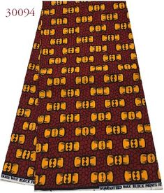 Guaranteed Wax Block Prints an exotic mixture of vibrant colors and traditional African Design. Wax Block Prints could use for skirts, dresses and tops.