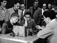fischer vs. petrosian | moscow 1958