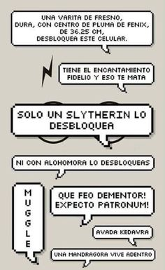 Pantalla bloqueada Harry Potter