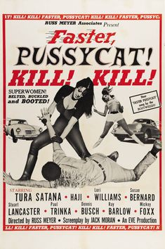 Faster Pussycat Kill Kill Movie Poster US Version