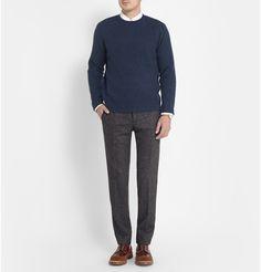 J.Crew - Waffle-Knit Cashmere Sweater |MR PORTER