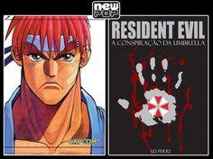 Mangás de Street Fighter e livro de Resident Evil serão lançados no Brasil