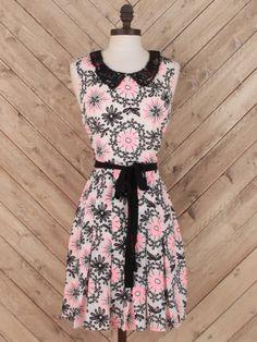 Altar'd State Pop of Pink Dress