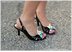 @Olivia Bailey Pinwheel shoe clip... We should have found this before your wedding!