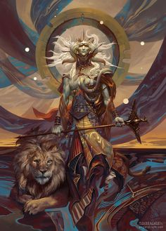 Samyaza, Angel of Pride by PeteMohrbacher on DeviantArt