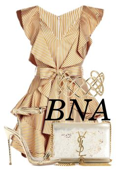 """BNA"" by deborahsauveur ❤ liked on Polyvore featuring Zimmermann, Blue Nile, Yves Saint Laurent and Dsquared2"