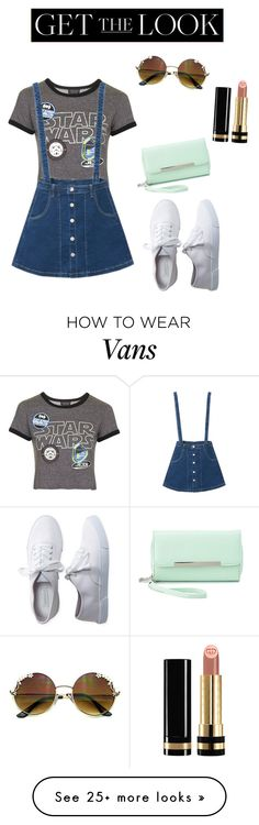 """Topshop X Vans"" by cocoluvs on Polyvore featuring Topshop, Aéropostale, Charlotte Russe and Gucci"
