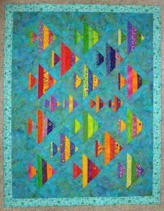 Wayne's 1 Fish 2 Fish quilt!