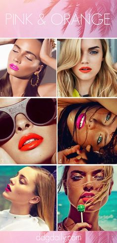 Pink & coral: A DDG moodboard full of simmering Summer pouts | moodboards lip service featured hp main feature beauty 2  pictures