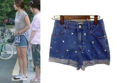 "Han Groo 한그루 in ""Marriage, Not Dating"" Episode 4.  H.Connect Denim Shorts #Kdrama #MarriageNotDating 연애말고결혼 #HanGroo"