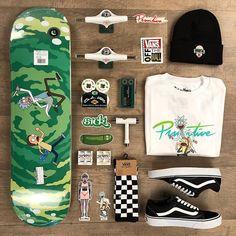 Restock Primitive Rick and Morty including new items & stickers! Skateboard Deck Art, Skateboard Design, Stickers Moto, Skate Style, Vans Style, Skate And Destroy, Skater Outfits, Cool Skateboards, Skate Decks