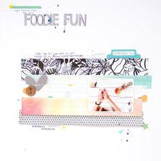 Layout: Foodie Fun.