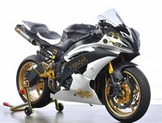 Yamaha R-6 with a little touch of gold