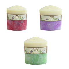 Set 3 lumanari parfumate handmade.  Din set fac parte urmatoarele 3 lumanari:  …