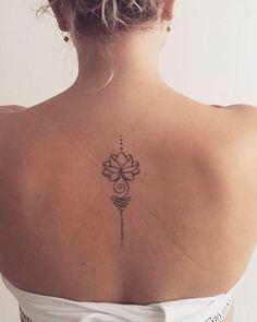 Unalome Tattoo, Tattoo Femeninos, Thai Tattoo, Tattoo Blog, Tattoo Quotes, Ankle Tattoo, Spine Tattoos, Body Art Tattoos, Sleeve Tattoos