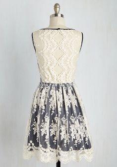 Girls and Poise Dress   Mod Retro Vintage Dresses   ModCloth.com