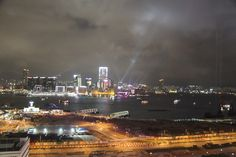 Symphony of lights from our room at @Mandarin Oriental, Hong Kong