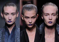 Feeling blue #FashionMath @THEOUTNET Statement lipstick 2013