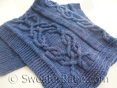 Ravelry: #150 Malabrigo Luxe Cabled Blanket pattern by SweaterBabe